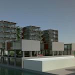studie naar een combinatie van woningen en lichte industrie