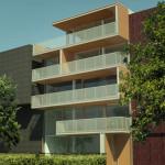 afbeelding van woning B in het woongebouw de Papaverwoningen